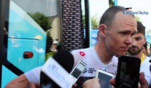 "Tour de France 2018 - Chris Froome : ""Je n'ai pas peur"""