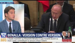 Affaire Benalla: version contre version