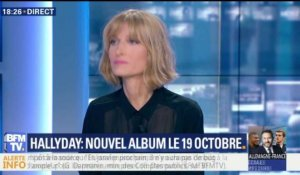 Hallyday: nouvel album le 19 octobre 2018