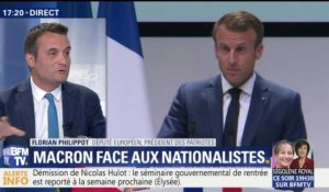 Emmanuel Macron face aux nationalistes