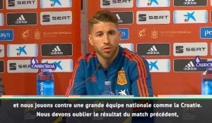 "Ramos : ""Un match unique"""