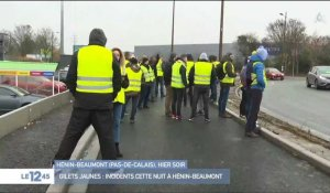 Gilets jaunes : incidents à Hénin-Beaumont