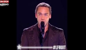 "La France a un incroyable talent : Jean-Baptiste Guegan, sosie vocal de Johnny, scotche le jury avec ""Je te promets"""