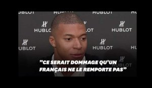 Ballon d'or 2018: Kylian Mbappé croit en ses chances