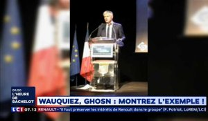 Laurent Wauquiez, Carlos Ghosn, gilets jaunes... : montrez l'exemple !