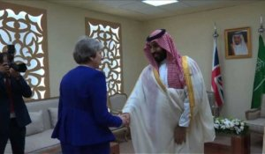 "Theresa May rencontre ""MBS"" durant le G20"