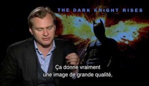 The Dark Knight Rises: Interview Christopher Nolan VO st fr