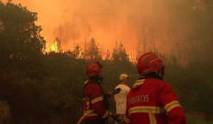 Les Portugais continuent de faire face aux incendies