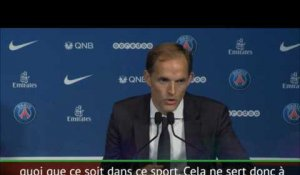 "PSG - Tuchel: ""La Ligue des Champions? Reposez moi la question au printemps"""