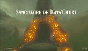 Zelda Breath of the Wild : Sanctuaire Kata'Chuki