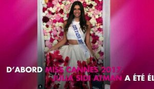 Miss France 2018 : Portrait de Julia Sidi Atman, Miss Côte d'Azur 2017 !