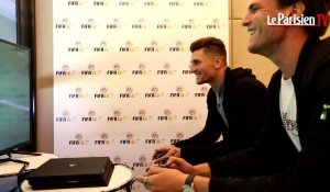 PSG : on a joué à Fifa 18 contre Thomas Meunier... et on l'a battu
