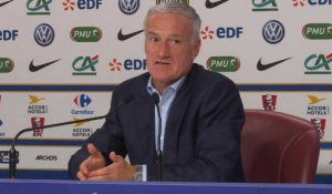 "Bleus - Deschamps : ""Martial est performant"""