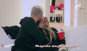 Les Anges 10 : Vincent Queijo embrasse Maddy - ZAPPING PEOPLE DU 16/03/2018