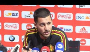 "International - Hazard: ""On ne peut pas être comparé à Messi"""