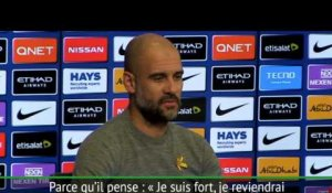 "Man City - Guardiola : ""Le genou de Mendy se porte bien"""