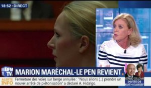 Marion Maréchal-Le Pen fera son retour en politique à Washington