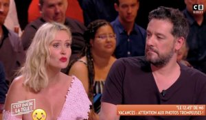 Accident de robe pour Tatiana Laurens en direct ! (CQDLT) - ZAPPING PEOPLE DU 28/05/2018