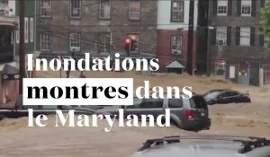 Inondations monstres dans le Maryland