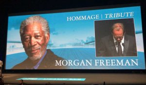 Vincent Lindon rend hommage à Morgan Freeman