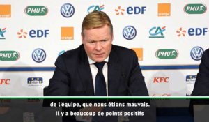 "Ligue des Nations - Koeman : ""De quoi être optimiste"""