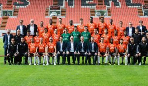 FC Lorient. Time lapse de la photo officielle.