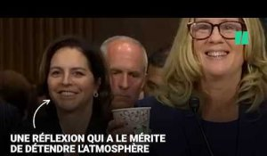 Auditionnée par le Sénat, Christine Blasey Ford a eu besoin de (beaucoup) de café