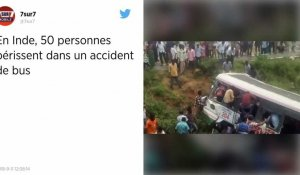 Inde. Cinquante morts dans un accident de bus.