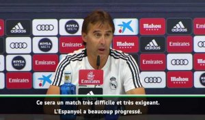 "5e j. - Lopetegui : ""Le match le plus exigeant"""