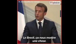Brexit: Macron rejette le plan de sortie de Theresa May