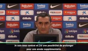 Barcelone - Valverde fait un point sur son avenir