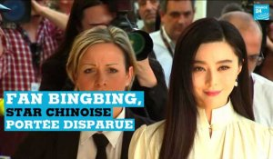 Chine : l'inquiétante disparition médiatique de la star Fan Bingbing
