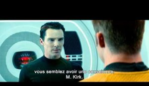 STAR TREK INTO DARKNESS -- confrontation entre Kirk et John Harrison VOST