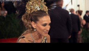 2013 Met Gala! Punk: Chaos to Couture ft Sarah Jessica Parker, JLo, Beyonce, Madonna | FashionTV