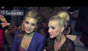 Ashlee Simpson Front Row at Richard Chai Love Fall 2013 | New York Fashion Week | FashionTV