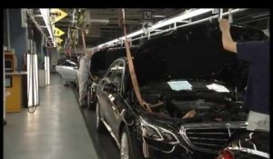 Mercedes-Benz E-Class production part 2