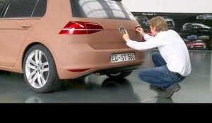 Volkswagen Golf Development - 1 to 1 Claymodell