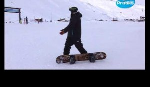 Initiation snowboard: Comment faire un virage.