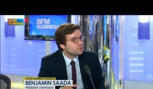 Le salon du Bourget : Benjamin Saada, Président d'Expliseat dans Good Morning Business - 17 juin