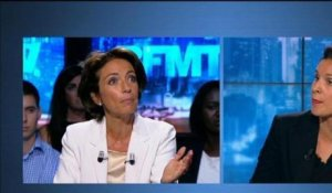 BFM Politique: l'interview de Marisol Tourraine par Apolline de Malherbes - 01/09