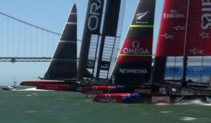 "Coupe de l'America: Oracle USA remporte la 34e ""Cup"""