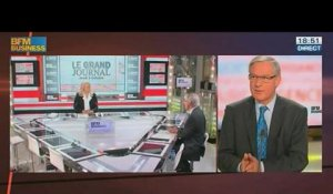 Christian Noyer, gouverneur de la Banque de France, dans Le Grand Journal - 03/10 4/4