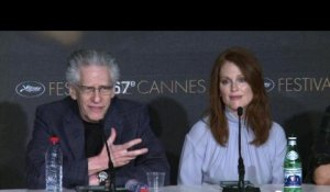 "Cannes: conférence de presse de ""Maps to the Stars"""