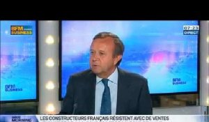 La production automobile remonte en France, Patrick Blain dans GMB - 03/06