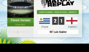 Uruguay - Angleterre : Le Match Replay avec le son RMC Sport !