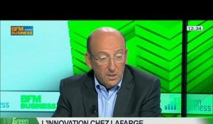 Innovation chez Lafarge: Gérard Kuperfarb, Olivier Duverdier et Patricia Laurent, dans Green Business – 25/05 4/5