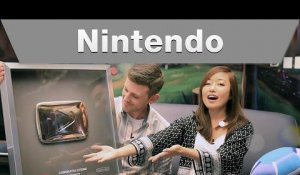 Nintendo - YouTube Play Button Unboxing