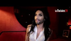 Le travesti barbu Conchita Wurst s'invite au Crazy Horse