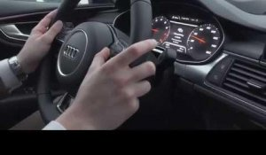 Audi A7 piloted driving Shanghai Demonstration | AutoMotoTV