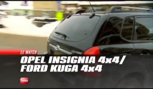 Comparatif Ford Kuga / Opel Insignia (Emission Turbo du 09/01/2011)